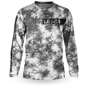 Loose Riders C/S Cult of Shred LS Jersey Men, tie dye grey